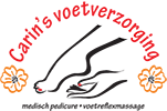 Carin's Voetverzorging Logo